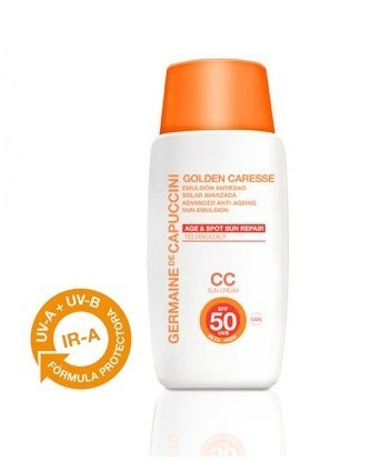 Germaine de Capuccini. Emulsión Anti-edad Solar Avanzada SPF50 Color 50 ml