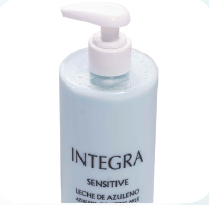 Integra. Sensitive. Leche Azuleno 200 ml