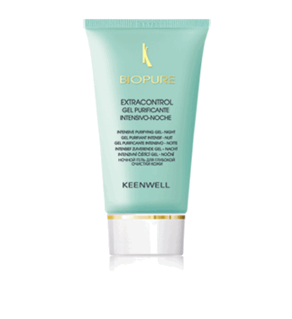 Keenwell. Biopure. Extracontrol Gel Purificante Intensivo Noche 60 ml