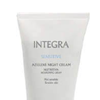 Integra. Sensitive. Crema Nutritiva Azuleno de Noche 200 ml