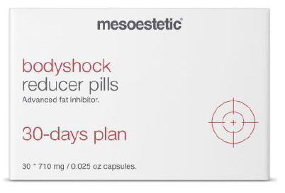 Mesoestetic. BodyShock Reducer Pils 30 Caps.