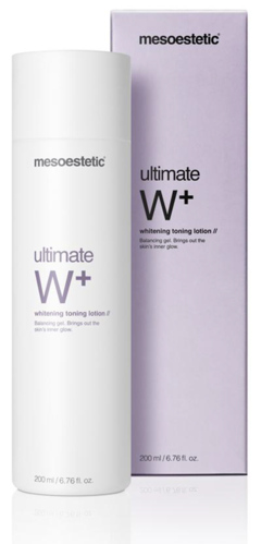 Mesoestetic. Ultimate W+ Whitening Toning Lotion 200 ml