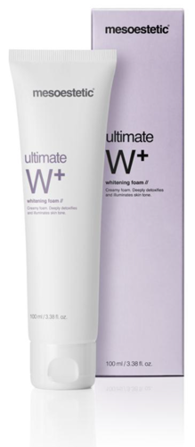 Mesoestetic. Ultimate W+ Whitening Foam 100 ml