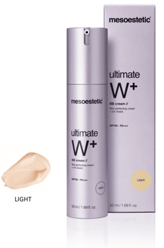 Mesoestetic. Ultimate W+ BB Cream LIGHT 50 ml