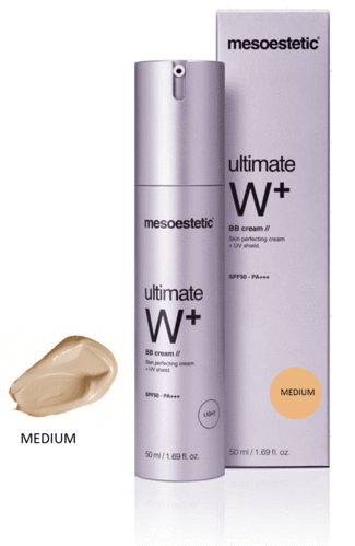 Mesoestetic. Ultimate W+ BB Cream MEDIUM 50 ml