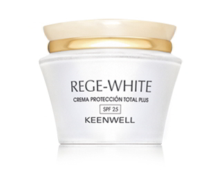 Keenwell. Rege White. Crema Protección Total Plus SPF25+ 50 ml