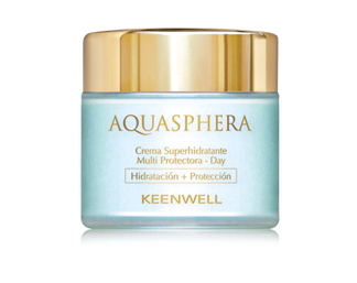 Keenwell. Aquasphera. Crema Superhidratante Multi Protectora Day 80 ml