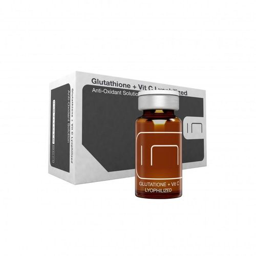 Institute BCN. Glutathione + Vitamina C Lyophilized 5 viales