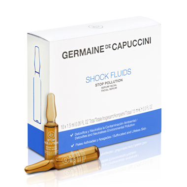 Germaine de Capuccini. Options. Shock Fluids Stop Pullution 10x1,5 ml