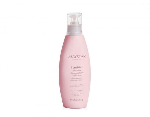 MAYSTAR. Sensitive. Emulsión Desmaquillante Tonificante 200 ml