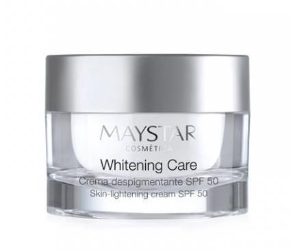 MAYSTAR. Whitening Care. Crema Despigmentante SPF50 50 ml