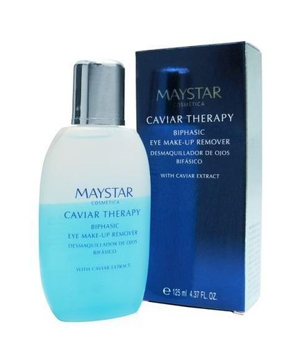 MAYSTAR. Caviar Therapy. Biphasic Eye Make-Up Remover 125 ml
