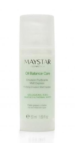 MAYSTAR. Oil Balance Care. Emulsión Purificante Mat Express 50 ml